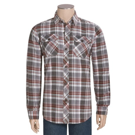 National Outfitters Yarn-Dyed Flannel Shirt - Long Sleeve (For Men)