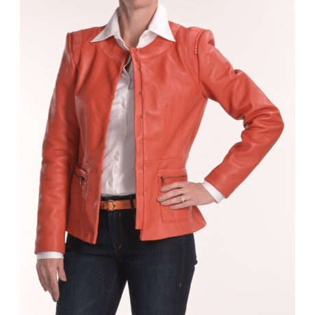 Soft Leather Jacket (For Women)