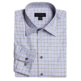 Scott Barber Melange Check Sport Shirt - Long Sleeve (For Men)