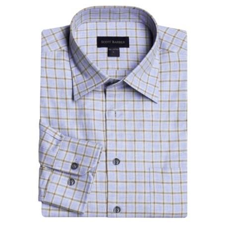 Scott Barber Melange Check Sport Shirt - Long Sleeve (For Men)