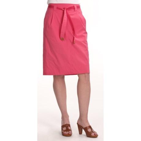 Bogner Claudine Stretch Cotton Skirt (For Women)
