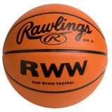 "Rawlings Leather Basketball - 28.5"" (For Women)"