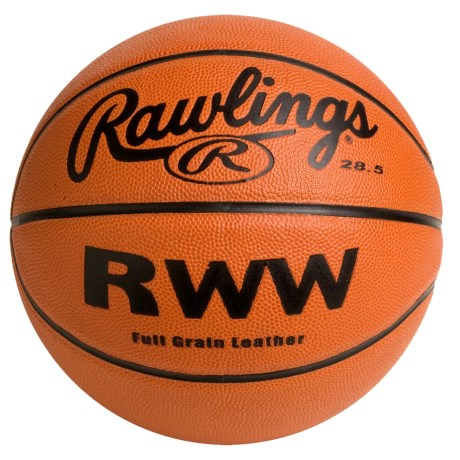"""Rawlings Leather Basketball - 28.5"""" (For Women)"""