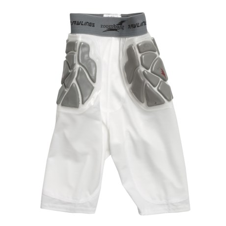 Rawlings Zoombang Compression Padded Girdle Shorts - 3-Piece (For Youth)