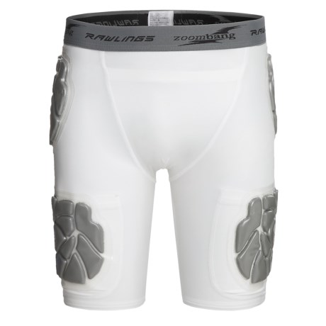 Rawlings Zoombang Compression Padded Girdle Shorts - 5-Piece (For Men)