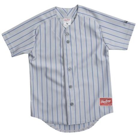 Rawlings Pinch Hitter Baseball Jersey - Short Sleeve (For Youth)