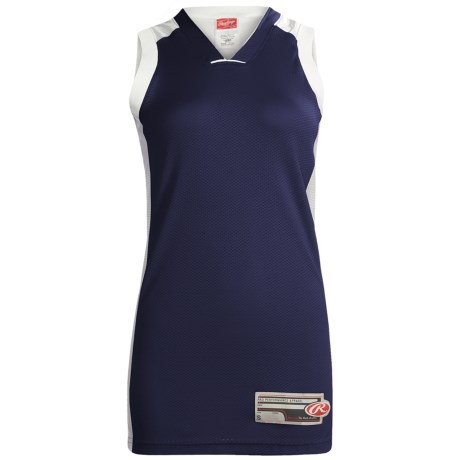 Rawlings Basketball Jersey - Sleeveless (For Women)