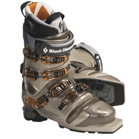 Black Diamond Equipment Push Telemark Ski Boots (For Men and Women)