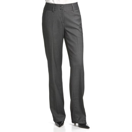 Atelier Luxe Nailhead Pants - Side Pockets (For Women)