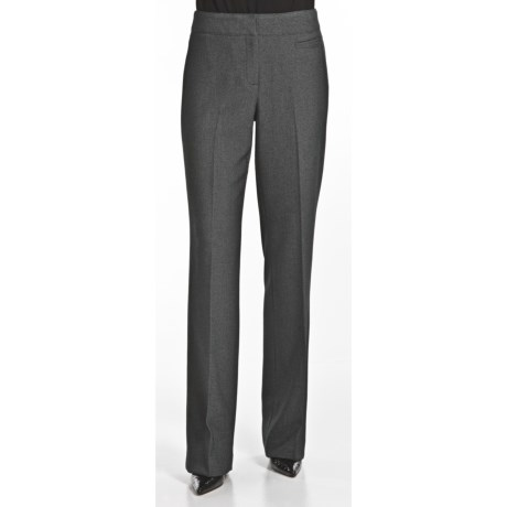Atelier Luxe Birdseye Pants - Flat Front (For Women)