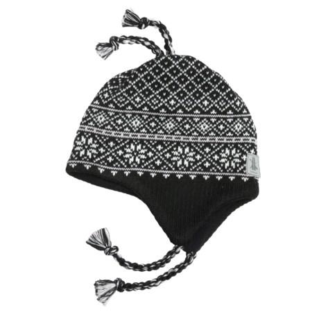 Kootenay Knitting Company Banff Hat - Merino Wool, Ear Flaps (For Men and Women)
