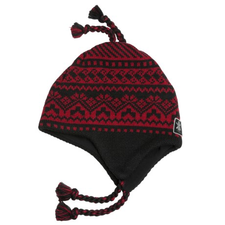 Kootenay Knitting Company Invermere Hat - Merino Wool, Ear Flaps (For Men and Women)
