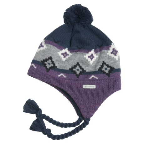 Kootenay Knitting Company Uppsala Hat - Merino Wool, Ear Flaps (For Men and Women)