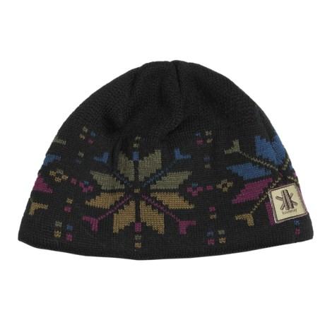 Kootenay Knitting Company Kronbergs Beanie Hat - Merino Wool, Fleece (For Men and Women)