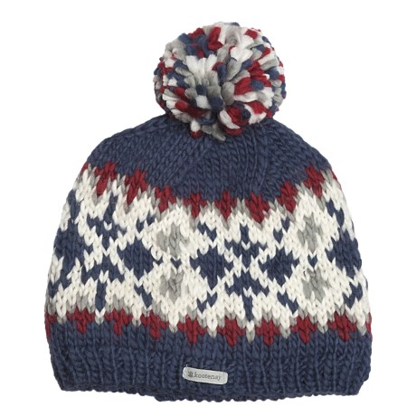 Kootenay Knitting Company Bergen Pom Beanie Hat - Merino Wool (For Men and Women)