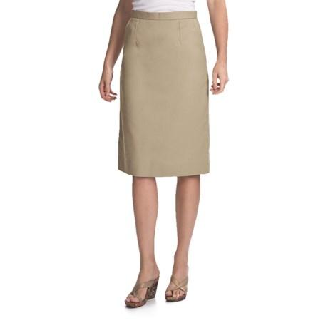 Knee-Length Pleated Skirt (For Women)