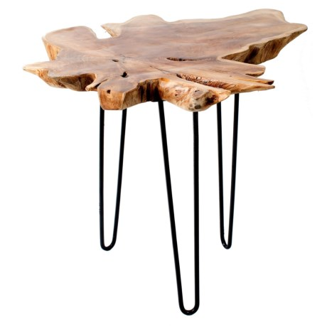 Privilege Large Teak Root Accent Table