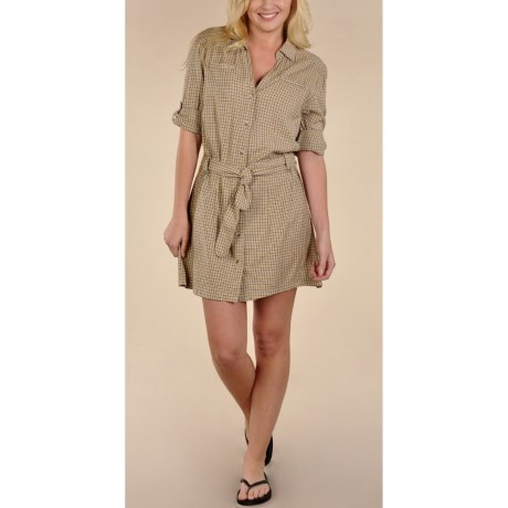 Gramicci St. Tropez Dress - Removable Belt, Modal, Long Sleeve (For Women)