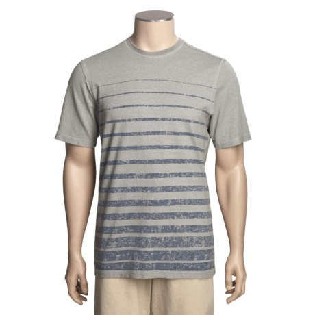 Gramicci Horizon Stripe T-Shirt - UPF 20, Hemp-Organic Cotton, Short Sleeve (For Men)