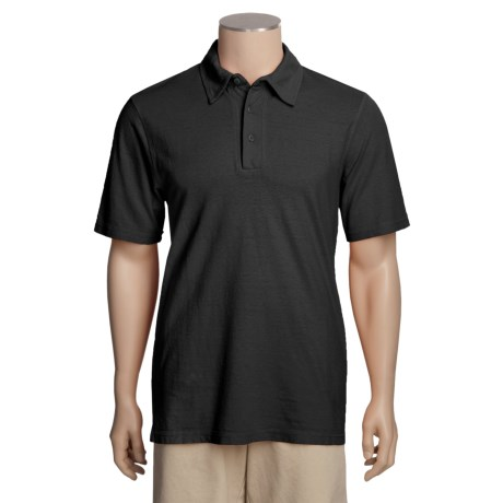 Gramicci Tirreno Polo Shirt - Hemp-Organic Cotton, Short Sleeve (For Men)