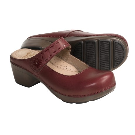 Dansko Solitaire Mary Jane Shoes - Leather, Open Back (For Women)