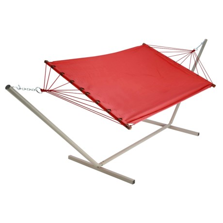 Castaway by Pawleys Island Small Fabric Hammock and Stand Combo