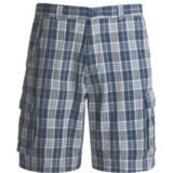 Dakota Grizzly Enzo Plaid Cargo Shorts (For Men)