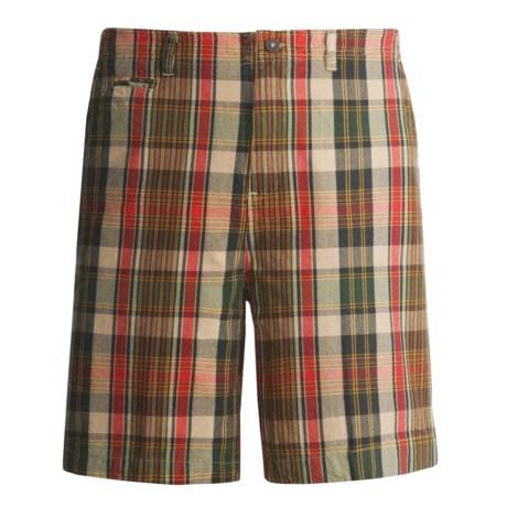 Dakota Grizzly Wally Plaid Shorts (For Men)