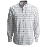 Dakota Grizzly Randall Plaid Shirt - Cotton Chambray, Long Sleeve (For Men)