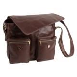 Aston Leather Aston Large Messenger Bag