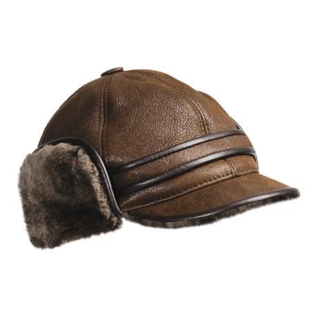 Aston Outdoorsman Sheepskin Hat (For Men)