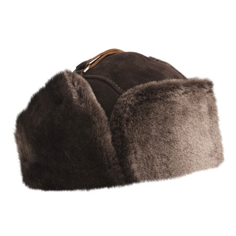 Aston Umiat Alaska Sheepskin Hat (For Men)