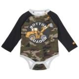 Caterpillar Bottom Loader Baby Bodysuit - Long Sleeve (For Infants)