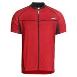 Canari Milano V Cycling Jersey - Full Zip, Short Sleeve (For Men)