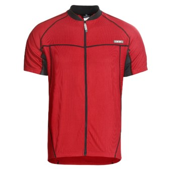 Canari Milano V Cycling Jersey - Full Zip, Short Sleeve (For Men)