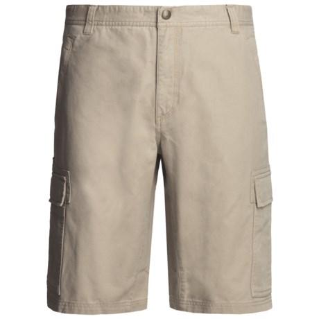 Royal Robbins Billy Goat® Cargo Shorts - Cotton Canvas, UPF 40+(For Men)
