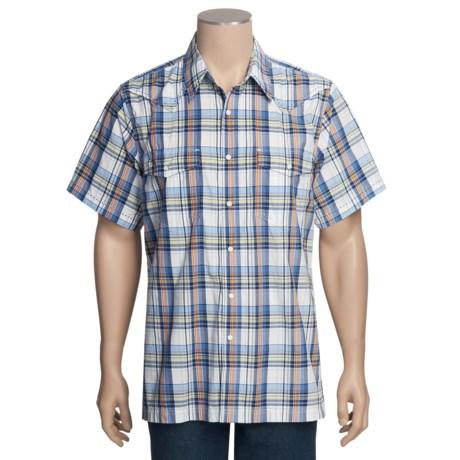 Royal Robbins Clint Plaid Shirt - Short Sleeve (For Men)