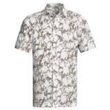 Royal Robbins Distorted Leaves Shirt - Cotton Dobby, Short Sleeve (For Men)