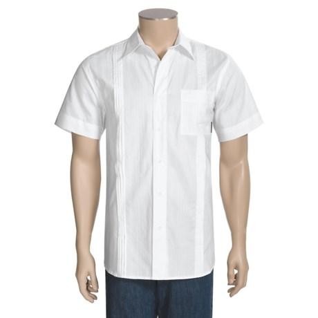Royal Robbins Riviera Shirt - Cotton Dobby, Short Sleeve (For Men)