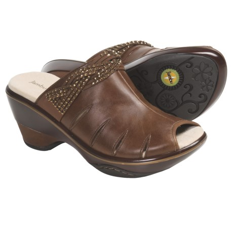 Jambu Miami Peep-Toe Clogs - Vegan (For Women)