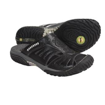 Jambu Plum Slip-On Shoes - Leather (For Women