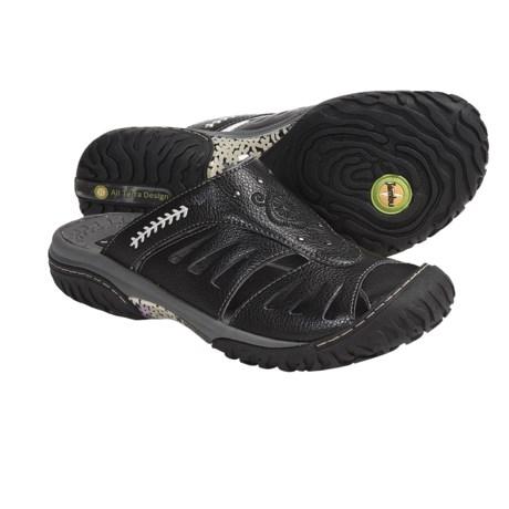 Jambu Plum Slip-On Shoes - Leather (For Women)