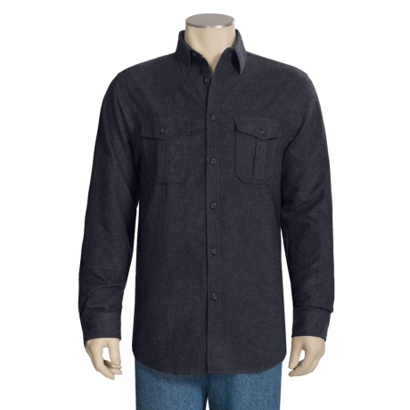 Dakota Grizzly Ranger Brushed Heathered Chamois Shirt - Long Sleeve (For Men)