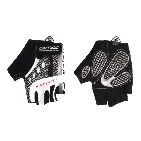 Carnac Racing Fingerless Road Cycling Gloves (For Men and Women)