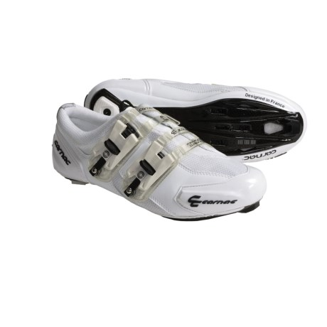 Carnac Attraction Carbon Sole Road Cycling Shoes - 3-Hole (For Men and Women)