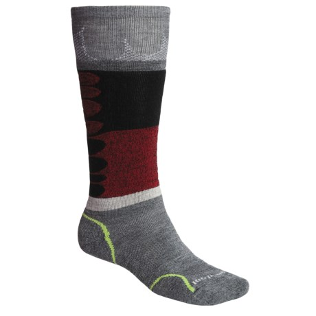 SmartWool Park-Melt Ski Socks - Merino Wool, Over-the-Calf (For Men and Women)