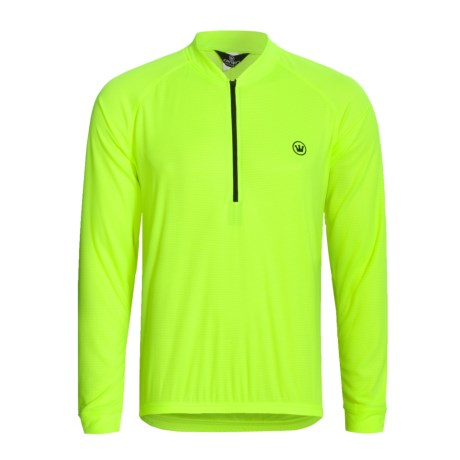 Canari Paceline Cycling Jersey - Zip Neck, Long Sleeve (For Men)