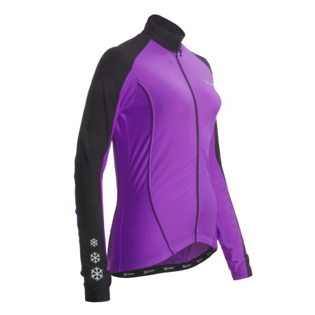 Canari Flurry Cycling Jersey - Long Sleeve (For Women)