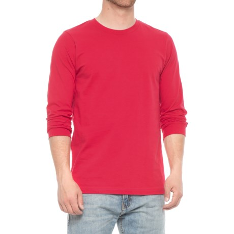 Specially made Jersey Crew T-Shirt - Long Sleeve (For Men)