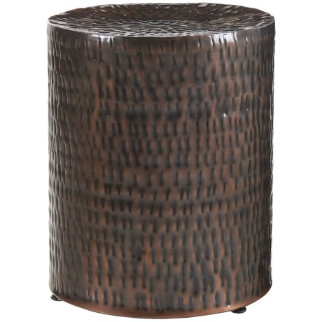 Home Essentials & Beyond Hammered Garden Stool - 17x14""